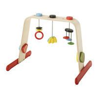 "IKEA ""ЛЕКА"" Тренажер для младенца, береза, разноцветный"