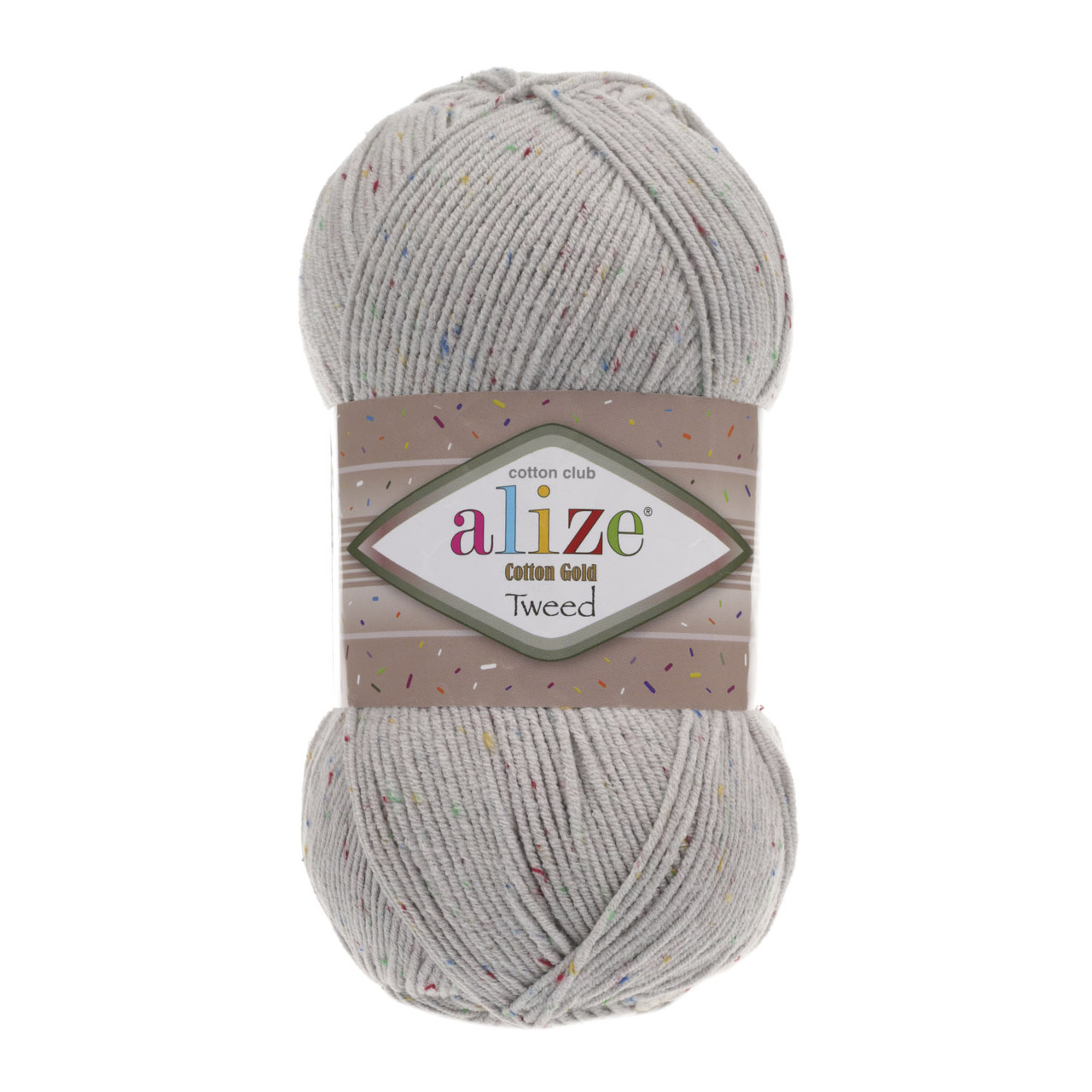 Cotton Gold Tweed №200
