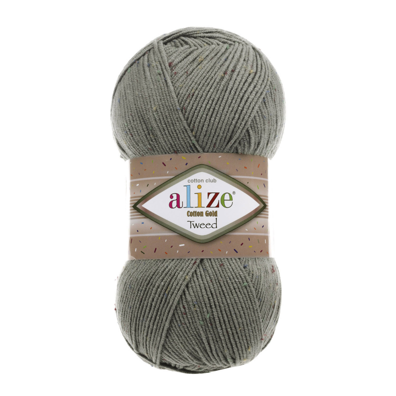Cotton Gold Tweed №414