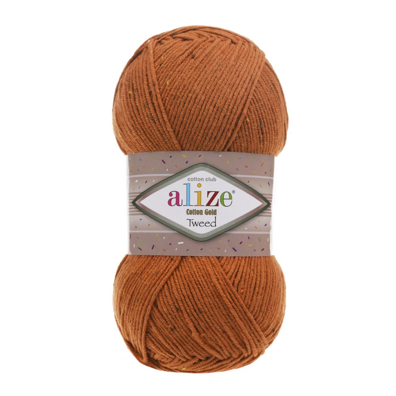 Cotton Gold Tweed №89