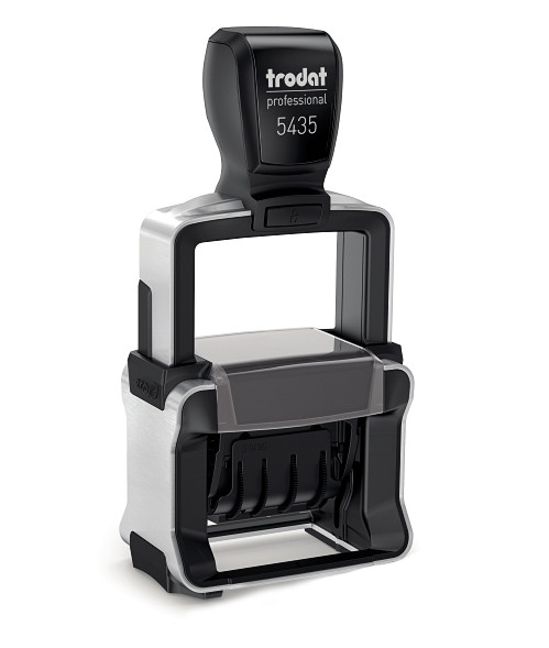 Датер самонаборный Trodat Professional 5435 2 строки 41x24 мм б/у