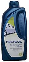 Синтетическое моторное масло Neste (Несте) City Pro 5w40 1л.