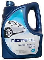Моторное масло полусинтетика Neste (Несте) Premium 10w40 4л.