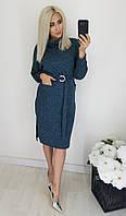 """Платье женское полубатальное  ангоровое, размеры 48-54 (3цв) """"LYUBAVA"""" купить недорого от прямого поставщика, фото 1"""
