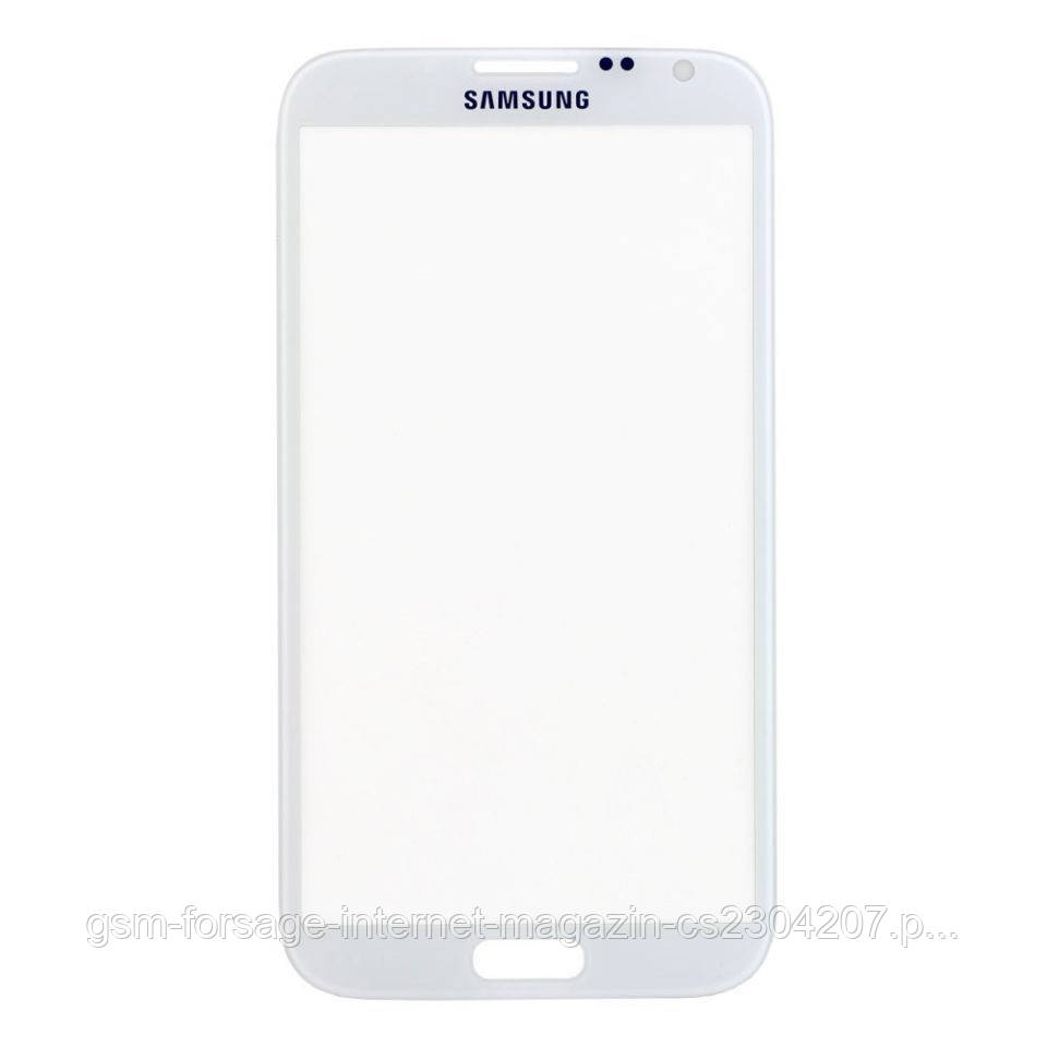 Стекло дисплея Samsung Galaxy Note 2 N7100 / N7105 White (для переклейки)