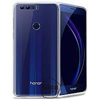 Чехол силиконовый для Huawei Honor 8 / O400 прозрачный