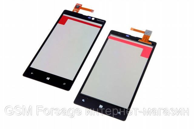 Тачскрин Nokia Lumia 820 Original black (RM-825)