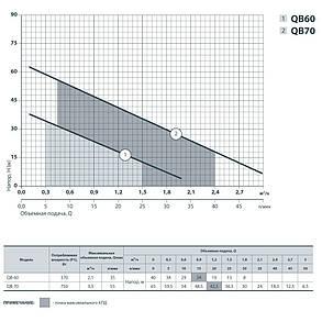 Вихревой насос SPRUT QB-70, фото 2