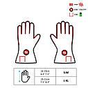 Утепленные универсальные перчатки с подгревом Glovii GYB, фото 7