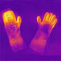 Утепленные универсальные перчатки с подгревом Glovii GYB, фото 4