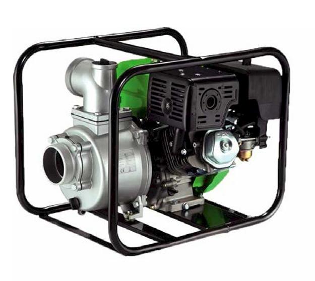 Мотопомпа Насосы+Оборудование GARDEN MP28-60 для перекачивания чистой и загрязненной воды 60 м³/ч напор 28м