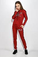 Костюм спорт женский 317F020 цвет Бордо