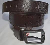 Кожаный мужской ремень Tommy Hilfiger|2
