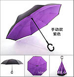 Зонт обратного сложения, фото 5