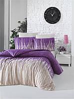 Постельный комплект евро Victoria «MONTE lilac»