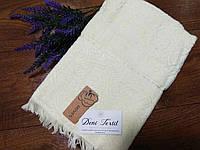 Махровое Банное хлопковое полотенце 100%хлопок 70-140 см цвет Белый