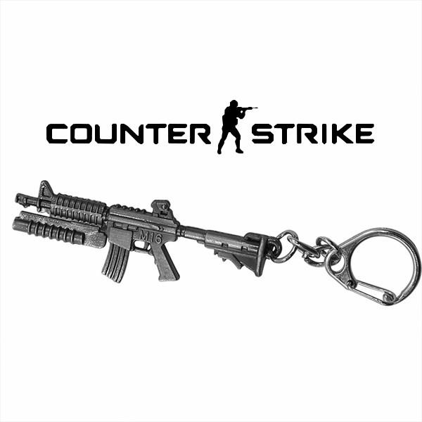 Брелок Автомат М16 Counter Strike CS:GO