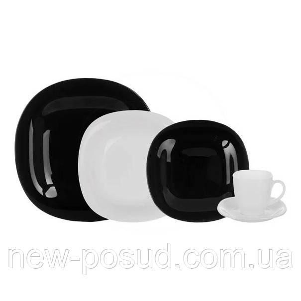Столовый сервиз из 30 пред. Luminarc Carine Black&White D2382