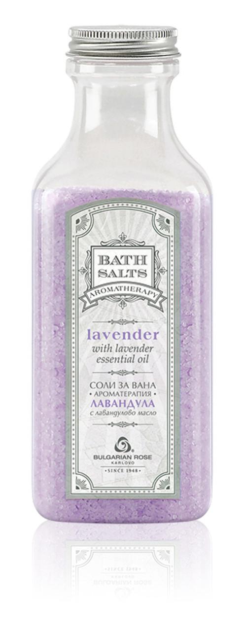 Соль для ванн Лаванда Bulgarian Rose 470 г