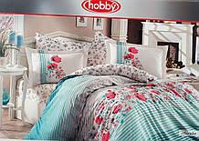 Комплект постельного белья, материал поплин, Размер 1,5