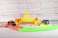 Гибкий трек - 360деталей ( Magic Track: светящаяся дорога с 2машинкамиМеджик Трекс), фото 2