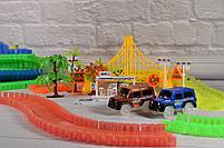 Гибкий трек - 360деталей ( Magic Track: светящаяся дорога с 2машинкамиМеджик Трекс), фото 6