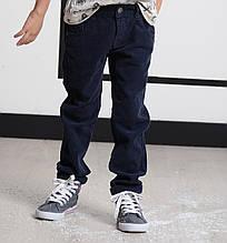 Детские утепленные брюки для мальчика TONI WANHILL Турция 9527 Синий 122, Синий,