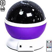 Вращающийся ночник-проектор звездного неба Star Master Dream с пультом ДУ (JDY705002939)