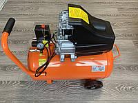 Компрессор 50 литров с ресивером 2.8кВт. LEX LXC50 240 л / мин