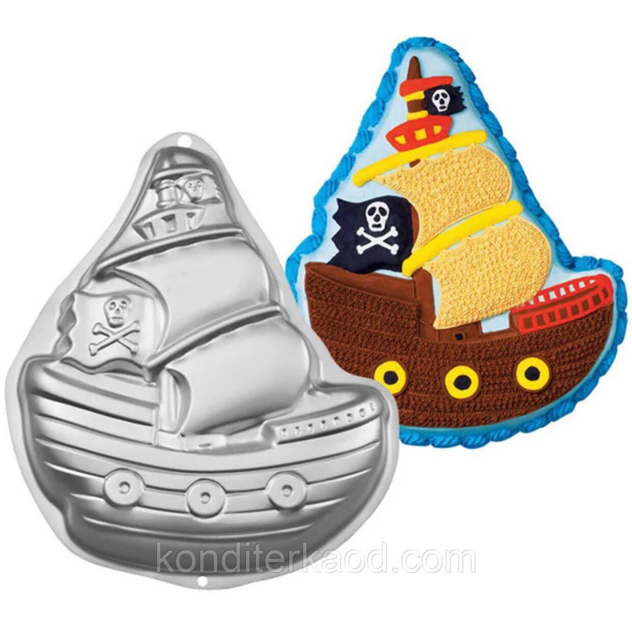 Форма для выпечки Корабль (метал)