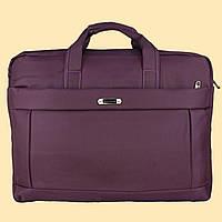"""Сумка- портфель для ноутбука, большая, до 17"""".  Сумка для документов. ( код: IBN004F )"""