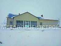 Металическая фасадная панель и Блок Хаус для фасада