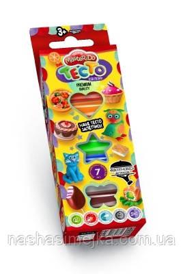 Тесто для лепки MASTER DO 3+ (7 цветных брикетов) («Danko Toys»)