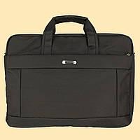 """Сумка- портфель для ноутбука, большая, до 17"""".  Сумка для документов. ( код: IBN004K )"""