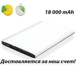 Мощный блок питания, PowerBank для планшетов и мобильных телефонов 18 000 mAh, внешний аккумулятор