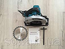 ✔️ Дискова пила, циркулярна Euro Craft cs 214 / Твердосплавний пиляльний диск, фото 2