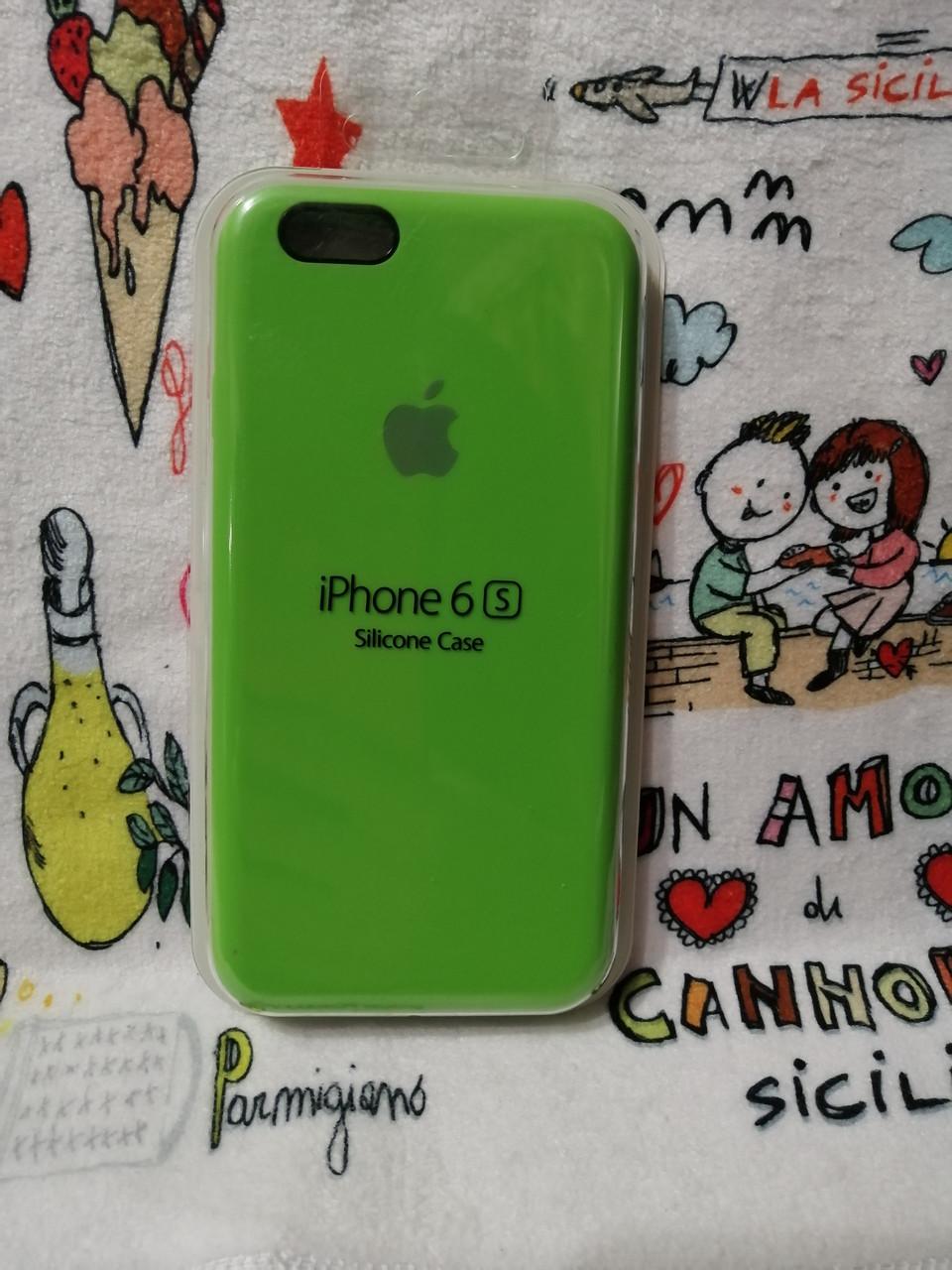 Силиконовый чехол для Айфон  6 / 6S  Silicon Case Iphone 6 / 6S в защищенном боксе - Color 24