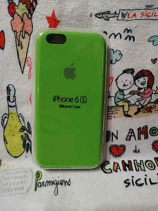 Силиконовый чехол для Айфон  6 / 6S  Silicon Case Iphone 6 / 6S в защищенном боксе - Color 24, фото 2