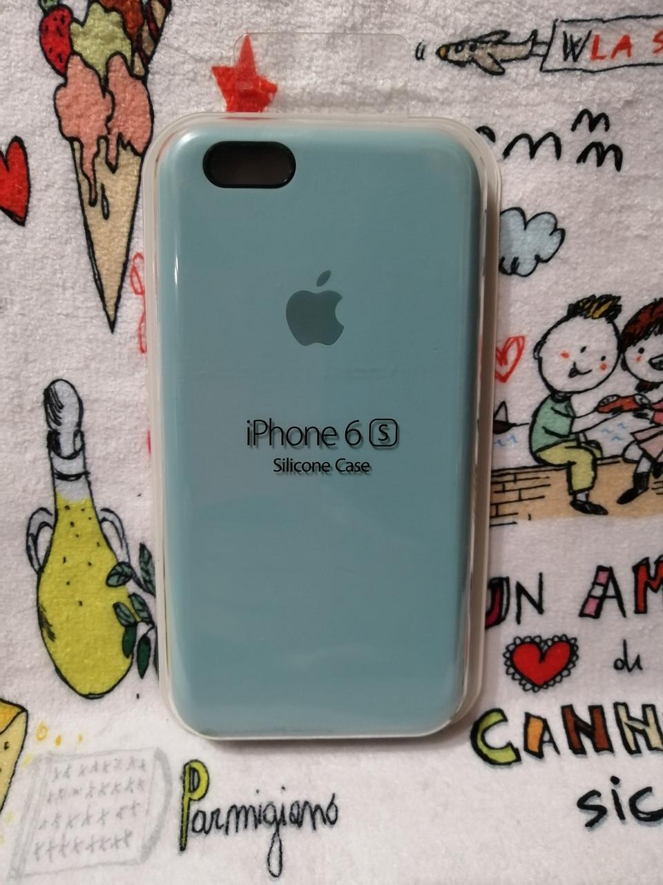 Силиконовый чехол для Айфон  6 / 6S  Silicon Case Iphone 6 / 6S в защищенном боксе - Color 26