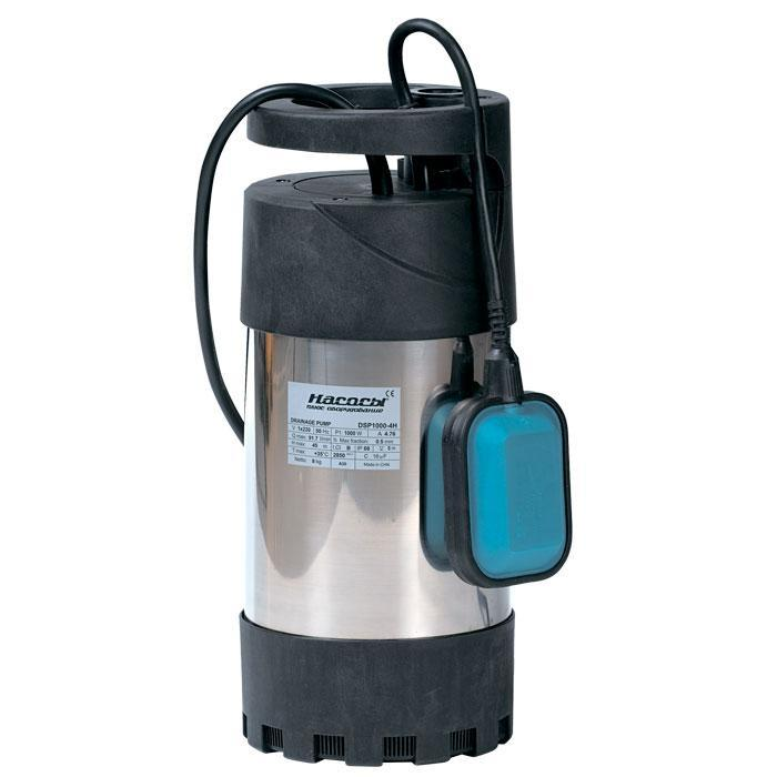Колодезный насос Насосы+Оборудование DSP 1000-4H  насос для колодцев, бассейнов глубина погружения 5м, 1000Вт