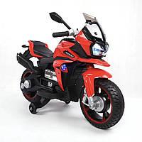 Эл-мобиль T-7227 RED мотоцикл 6V7AH мотор 1*18W с USB 97*65,3*53 /1/