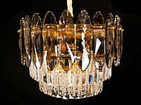 Хрустальная люстра в классическом стиле  хром/золото 9313-500, фото 1