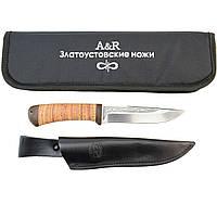 Нож АиР Лиса рукоять береста