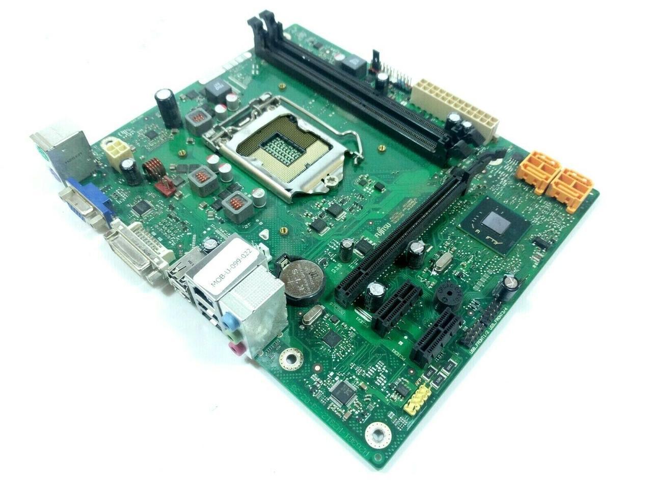 БРЭНДОВАЯ НАДЕЖНАЯ ПЛАТА LGA1155  Fujitsu D2990-A21 H61/DDR3 Поддерживает Core- i7,i5, i3  3го ПОКОЛЕНИЯ s1155
