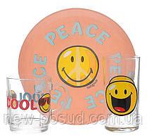 Столовый сервиз Smiley world first 3 пред. Luminarc H5319