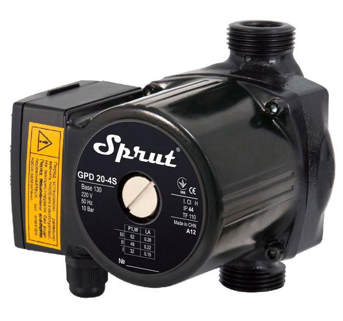 Циркуляционный насос Sprut GPD 20-4S-130 + гайка