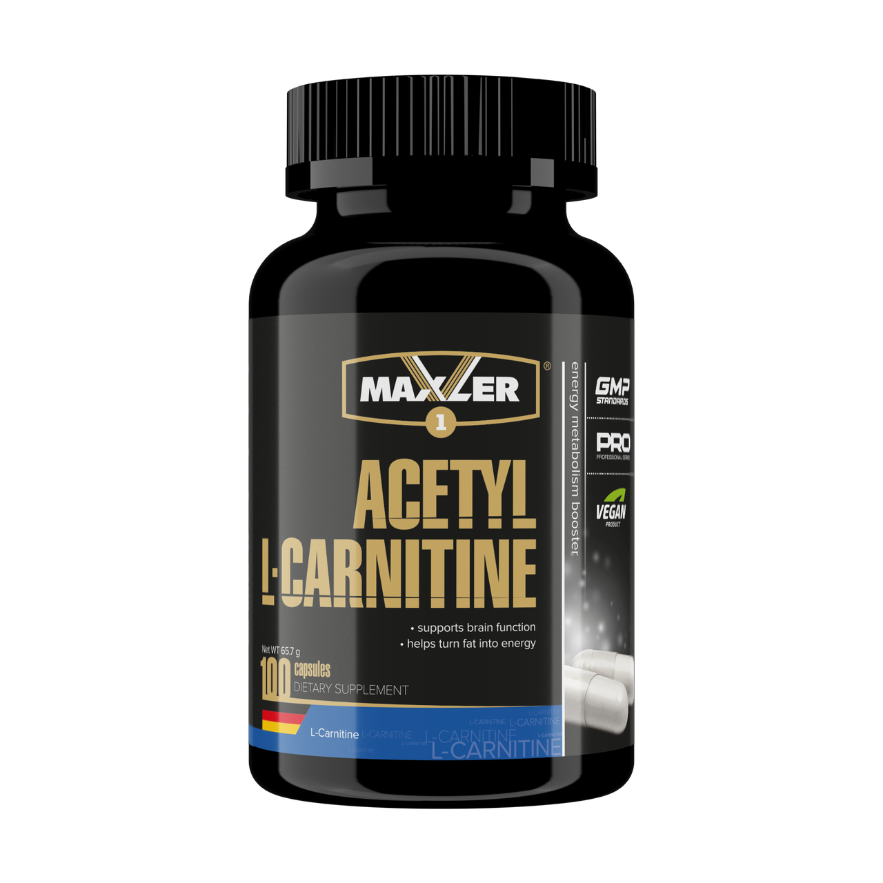 Maxler Acetyl L-Carnitine – 100 капсул