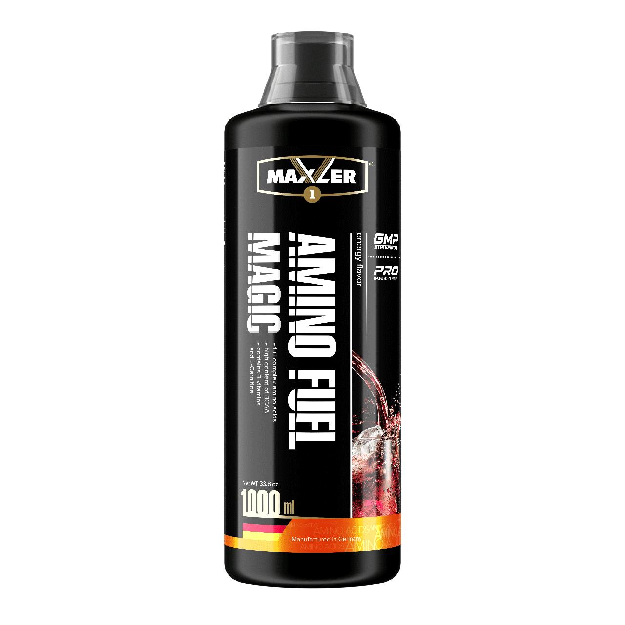 Maxler Amino Magic Fuel 1000 мл – Энерджи