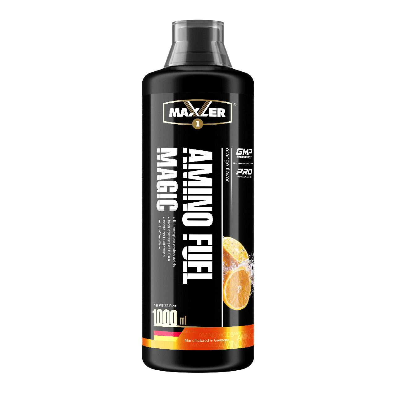 Maxler Amino Magic Fuel 1000 мл – Апельсин