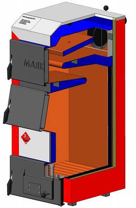 Твердотопливный котел Маяк АОТ-25 STANDARD PLUS, фото 2